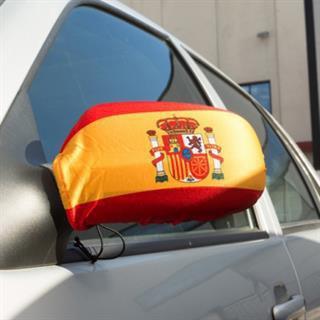 Spanien Autospiegelfahne EM 2016
