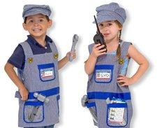 Melissa & Doug Train Engineer Costume Role Play Set
