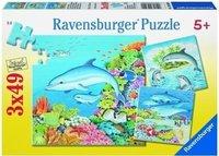 Ravensburger Welt der Delfine (3 x 49 Teile)