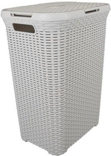 Curver Rattan Wäschebox (60 L) creme