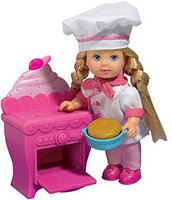 Evi Love Puppe Kuchen backen