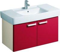 Keramag Renova Nr.1 Plan Waschtischunterschrank (93 cm) rubin