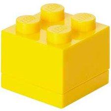 LEGO Brotdose 1 x 4 gelb
