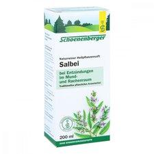 Duopharm Salbei Saft Schönenberger Heilpflanzensäfte (200 ml)