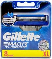 Gillette Mach 3 Turbo 8er Pack