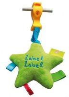 Label-Label Stern mit Clip
