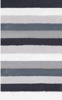 Kleine Wolke Bilbao Badteppich (50 x 60 cm) schwarz