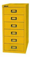 Bisley Schubladenschrank L296 (gelb)
