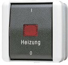 Jung Heizung-Notschalter 802HW