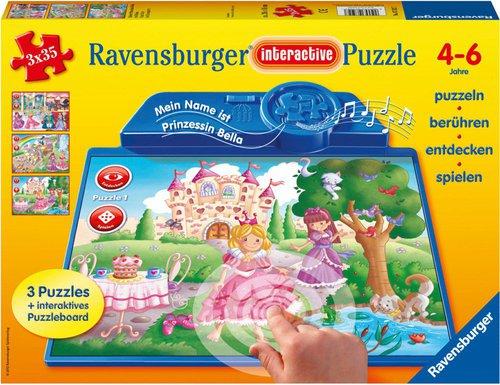 Ravensburger Interactive - Kleine Prinzessin Bella (3 x 35 Teile)