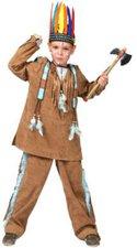 Funny Fashion Kostüm Indianer hellbraun