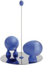 Alessi Salz- und Pfefferstreuer Set Lilliput blau
