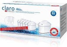 ClaroSwiss Maxima Filterkartusche 6-Pack