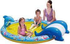 Toy Quest Slide N Splash Whale Pool und Rutsche