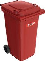 Sulo Mülltonne 240 Liter rot