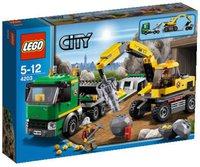 LEGO Grubenbagger mit Transporter (4203)