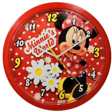 Minnie Maus Wanduhr