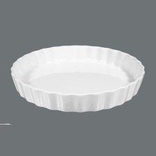 Seltmann Weiden Lukullus Weiß uni 6 Backform rund 25 cm