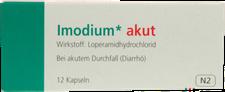 Eurim Imodium Akut Kapseln (12 Stk.)