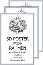 Empire Poster MDF 3D Rahmen für 47x67