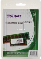 Patriot 16GB SO-DIMM DDR3 PC3-12800 CL11 (PSD316G1600SK)
