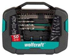 Wolfcraft Werkzeugkoffer 50-tlg. (8602000)