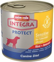 Animonda Petfood Integra Sensitive Rind & Amaranth (600 g)