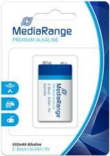 MediaRange E-Block / 6LR61 Alkaline Batterie 9 V (10 St.)