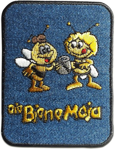 Biene Maja Bügelbild