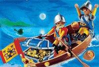 Playmobil 4295 Schatztransport im Ruderboot