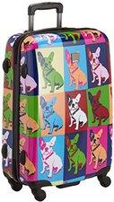 Saxoline Icons Bulldog 4-Rollen-Trolley M 67 cm