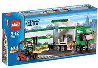 LEGO 7733 Lkw mit Gabelstapler