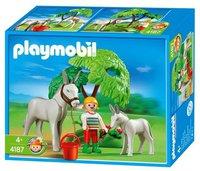 Playmobil 4187 Esel mit Fohlen