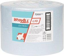 Kimberly-Clark WYPALL L20 Papier-Wischtücher blau Großrolle 1-lagig