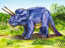 Ravensburger Koffer-Puzzle 07494 Bunte Dinosaurier