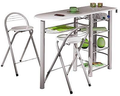 Link Frida Küchenbar + 2 Bar-Stühle
