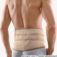 Bort StabiloBasic Rückenbandage mit Pelotte haut Gr. 1 / XXS