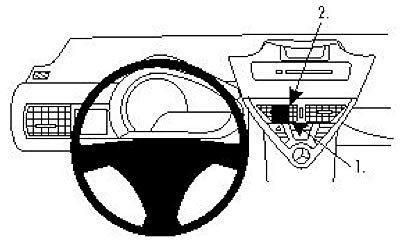 Brodit ProClip Toyota iQ