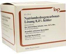 Köhler Natrium Hydrogencarbonat 84% (25 x 20 ml)
