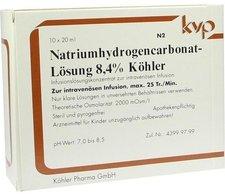 Köhler Natrium Hydrogencarbonat 8,4% (10 x 20 ml)