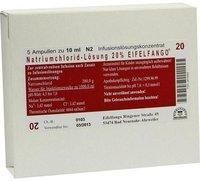 Eifelfango Natriumchlorid 20 % Infusions-Lsg. Konz. (5 x 10 ml)