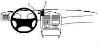 Brodit ProClip Peugeot 405 Bj. 93-95