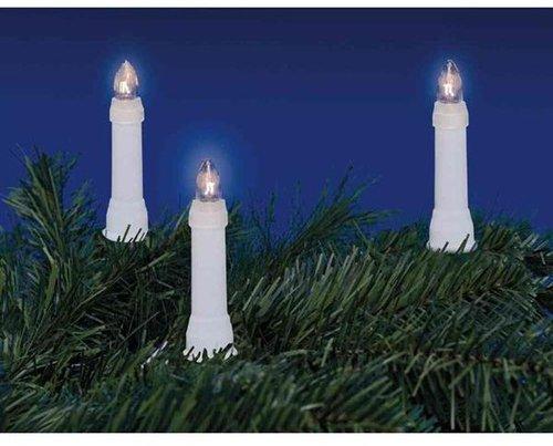 Queenshome Außen-Lichterkette 30er Toplampen weiß (805343)