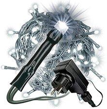 Dilego LED-Lichterkette 200er weiß (BA11698)