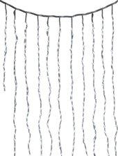 Hellum LED Wasserfallvorhang 576er weiß (565485)