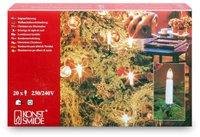 Konstsmide Lichterkette Topkerzen 20er klar (1998-000)