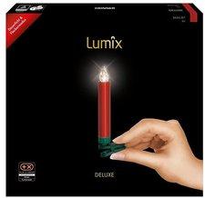 Krinner Lumix Deluxe Weihnachtskerzen kabellos 10er champagner