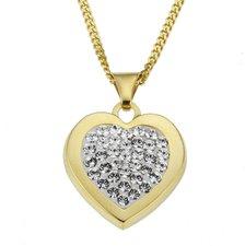 Crystelle Swarovski Herz Kristallkette (500341014)