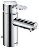 Keuco Plan Einhebel Waschtischmischer für offene Heißwasserbereiter (Edelstahl, 54903070000)