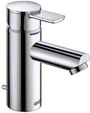 Keuco Plan Einhebel Waschtischmischer für offene Heißwasserbereiter (Aluminium finish, 54903170000)